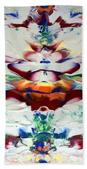 Abstract Series H1015al Beach Towel