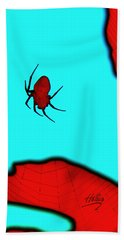 Abstract Spider Beach Towel