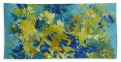 Abstract Spring Beach Sheet