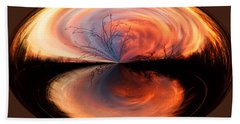 Abstract Sunrise Beach Towel