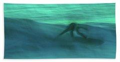 Abstract Surfer Beach Sheet