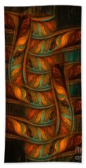 Abstract Totem Beach Towel