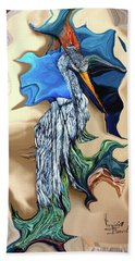 Abstract  Beach Towel