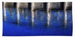 Abstract Water Beach Towel by Mike Santis