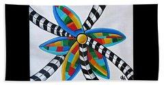 Abstract Windmill  Beach Sheet