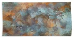 Abstractions From Nature - Slash Pine Bark Beach Towel
