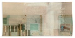 Beach Towel featuring the digital art Abstractitude - C01b by Variance Collections