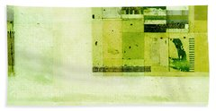 Beach Sheet featuring the digital art Abstractitude - C4v by Variance Collections