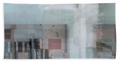 Beach Sheet featuring the digital art Abstractitude - C7 by Variance Collections