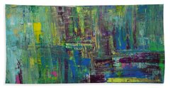 Abstract_untitled Beach Towel