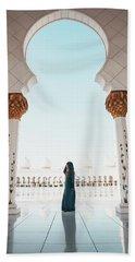 Abu Dhabi Mosque Beach Towel