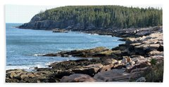 Acadia Cove Beach Towel