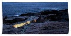 Acadia Nocturnes Beach Towel
