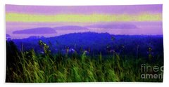 Acadia Sunrise Beach Towel