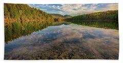 Acadian Reflection Beach Sheet by Rick Berk