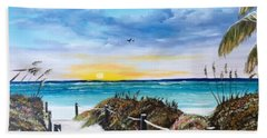 Access The Siesta Key Sunset Beach Towel