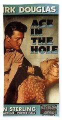 Ace In The Hole Film Noir Beach Sheet