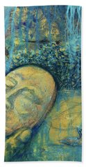 Ace Of Coins Beach Towel