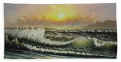Acrylic Msc 148 Beach Towel