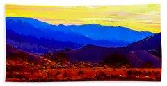 Acton California Sunset Beach Sheet
