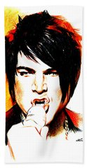 Adam Lambert Beach Towel