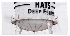 Adams Hats Deep Ellum Texas 061818 Beach Towel