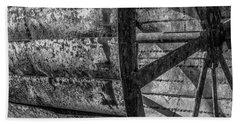Adam's Mill Water Wheel Beach Towel