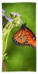 Addicted Queen Butterfly Beach Towel