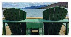 Adirondack Chair For Two Beach Sheet