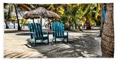 Adirondack Chairs Beach Towel