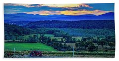 Beach Towel featuring the photograph Adirondack Country by Kendall McKernon
