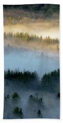 Adirondack Fog Beach Towel