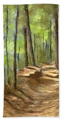 Adirondack Hiking Trails Beach Towel