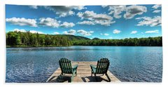 Adirondack Panorama Beach Towel