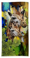 Admirable Mom And Child Beach Towel