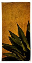 Adobe And Agave At Sundown Beach Towel