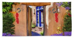 Adobe Door Beach Sheet