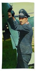 Adolf Beach Towel