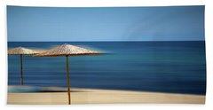 Aegean Sea Beach Sheet by Milena Ilieva