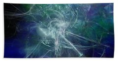 Aeon Of The Celestials Beach Towel by Jeff Iverson