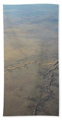 Beach Towel featuring the photograph Aerial 2 by Steven Richman