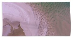 Beach Towel featuring the photograph Aerial Image Of Noosa River Fine Details by Keiran Lusk