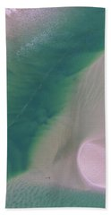 Beach Towel featuring the photograph Aerial Photo Of Noosa River In Detail by Keiran Lusk