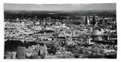 Aerial View Of London 6 Beach Towel