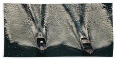 Aerial Wash Beach Towel