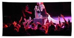 Aerosmith-steven Tyler-00088 Beach Sheet by Gary Gingrich Galleries