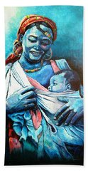 Affection Beach Towel by Bankole Abe