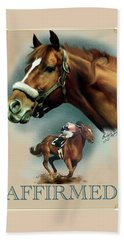 Affirmed With Name Decor Beach Sheet