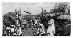 Africa: Railway, C1905 Beach Towel