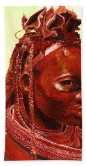 African Beauty Beach Sheet